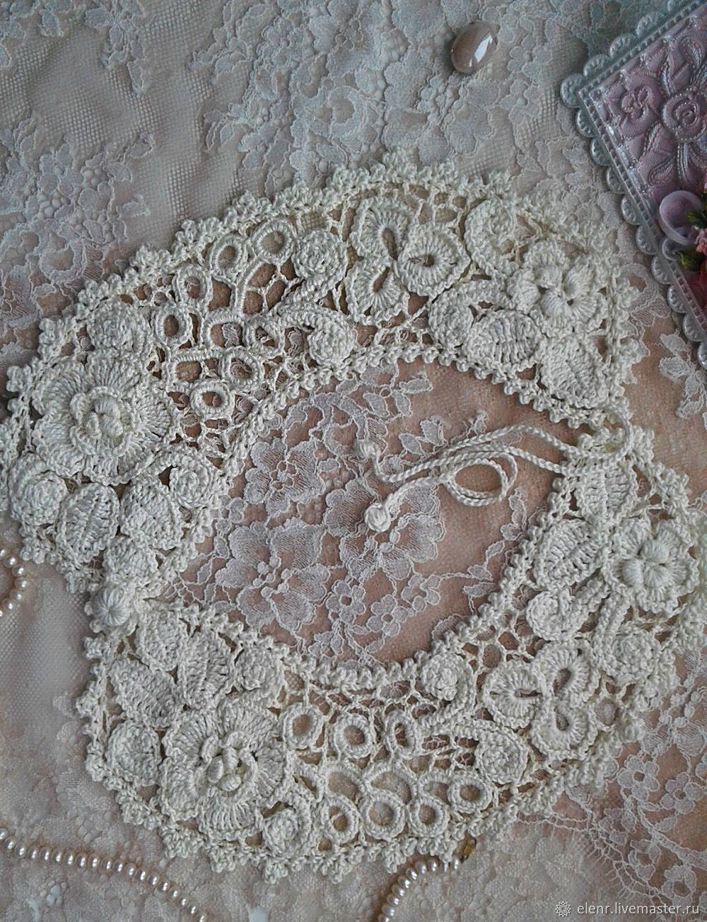 Irish lace. Collar 'Olga', Collars, Rybinsk,  Фото №1