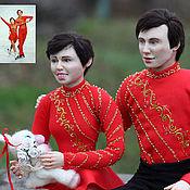 """Куклы и пупсы ручной работы. Ярмарка Мастеров - ручная работа Пример портретной куклы """"Калинка"""". Handmade."""