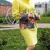 """Одежда ручной работы. Ярмарка Мастеров - ручная работа Жакет валяный """"Лето"""". Handmade."""