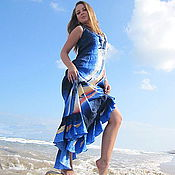 """Одежда ручной работы. Ярмарка Мастеров - ручная работа Вечернее платье """"Испанские мотивы"""".. Handmade."""