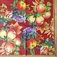 Сочные яблочки, гранат, смородина, фрукты Салфетка для декупажа Салфетка пр-во Германия Декупажная радость