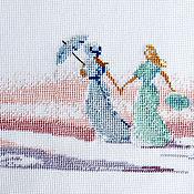 Картины и панно ручной работы. Ярмарка Мастеров - ручная работа поездка на воды. Handmade.