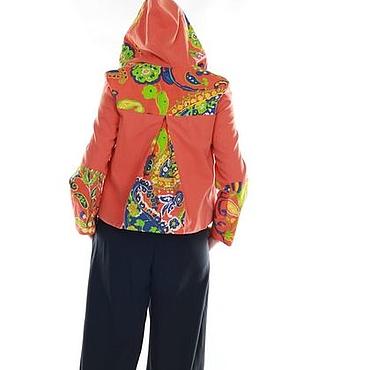 """Одежда ручной работы. Ярмарка Мастеров - ручная работа Авторская куртка """"Рыжее счастье"""". Handmade."""