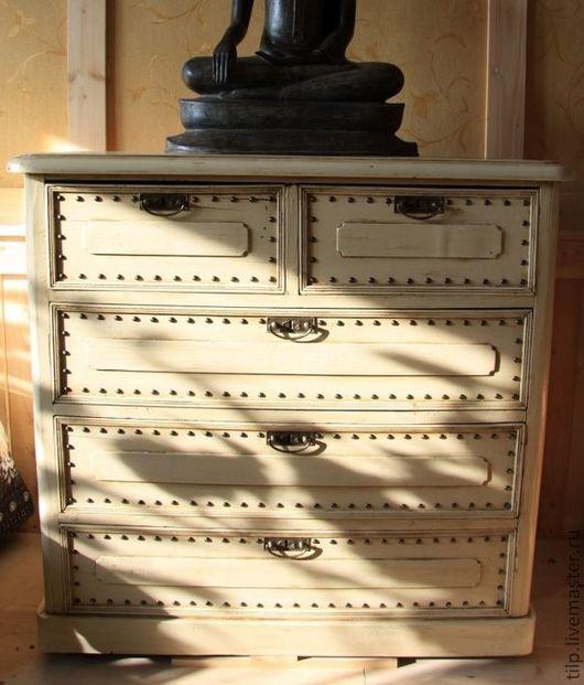 Мебель ручной работы. Ярмарка Мастеров - ручная работа. Купить Комод(реставрация). Handmade. Реставрация мебели, металлическая фурнитура