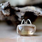 Rings handmade. Livemaster - original item Topaz. Ring. Handmade.