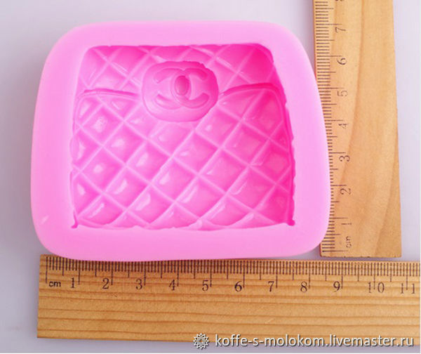 ad9604bf1f9f Cosmetic Materials handmade. Silicone molds for soap CHANEL Wallet.  Hobbypage. Online shopping on