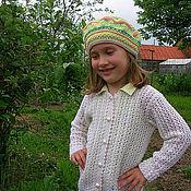 """Работы для детей, ручной работы. Ярмарка Мастеров - ручная работа Кофта для девочки """"Весенняя"""". Handmade."""