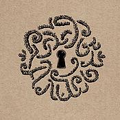 """Дизайн и реклама ручной работы. Ярмарка Мастеров - ручная работа Фирменный стиль """"Сады Алисы"""". Handmade."""