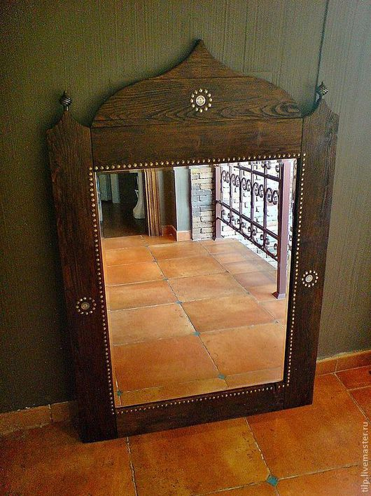 Зеркала ручной работы. Ярмарка Мастеров - ручная работа. Купить Зеркало. Handmade. Восточный стиль, под старину