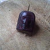 Украшения handmade. Livemaster - original item Suspension: Cameo pendant on amethyst