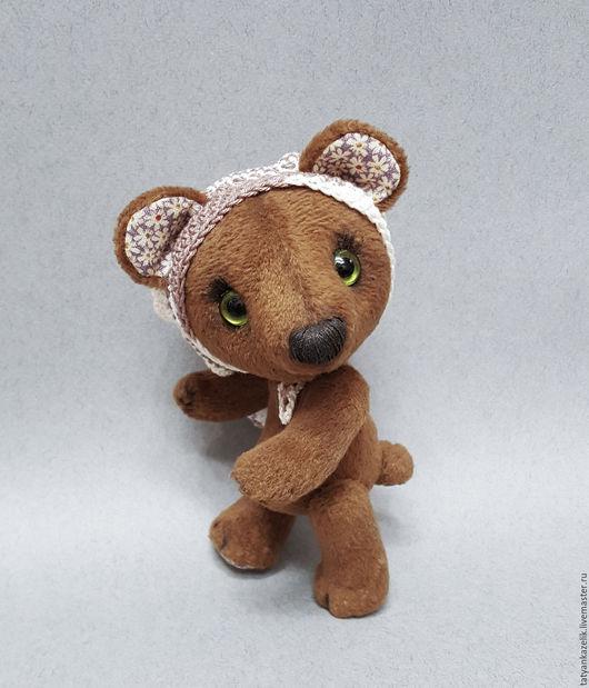 Мишки Тедди ручной работы. Ярмарка Мастеров - ручная работа. Купить Мишка тедди Пиня. Handmade. Коричневый, искусственный мех