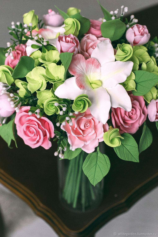 Красивые букеты из орхидей, заказ цветов в великом новгороде до 5000 рублей