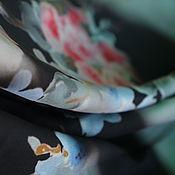 "Материалы для творчества ручной работы. Ярмарка Мастеров - ручная работа Шелк ""Бомбер"". MAX MARA. Цена за отрез. Handmade."