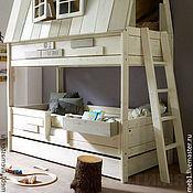 Для дома и интерьера ручной работы. Ярмарка Мастеров - ручная работа № 3. Кроватка домик. Handmade.