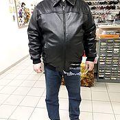 Куртки ручной работы. Ярмарка Мастеров - ручная работа Кожаная куртка по размерам заказчика. Handmade.