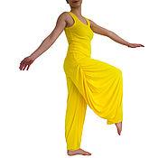 Одежда ручной работы. Ярмарка Мастеров - ручная работа Брюки женские, летние брюки женские, шаровары, брюки афгани. Handmade.