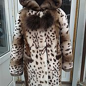 Работы для детей, handmade. Livemaster - original item Mutton fur coat children`s. Handmade.