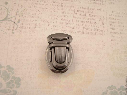 Другие виды рукоделия ручной работы. Ярмарка Мастеров - ручная работа. Купить Замок для сумки КА 0040 блэк никель. Handmade.