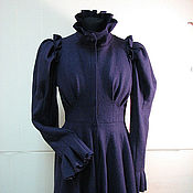 Одежда handmade. Livemaster - original item Fantasy coats of loden clothes from