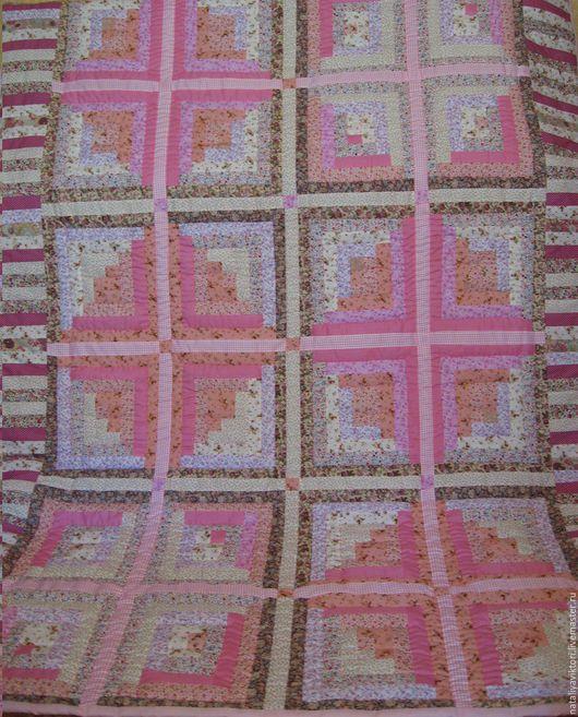 """Текстиль, ковры ручной работы. Ярмарка Мастеров - ручная работа. Купить Покрывало пэчворк  """"Ягодный Микс""""   Хлопок 100%. Handmade."""