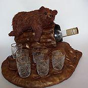 Сувениры и подарки handmade. Livemaster - original item Support under a bottle