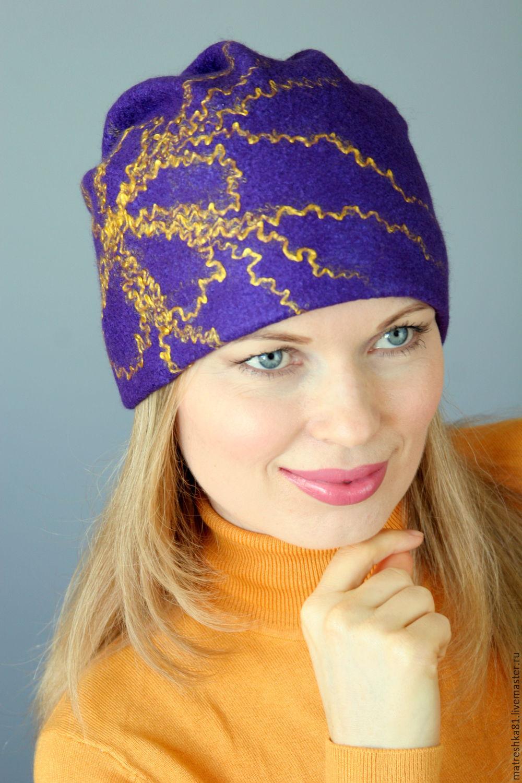 Как сделать из войлока шапку