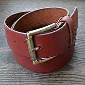 handmade. Livemaster - original item Strap leather. Handmade.