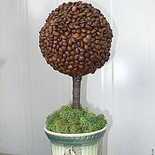 Цветы и флористика ручной работы. Ярмарка Мастеров - ручная работа кофейное дерево счастья. Handmade.