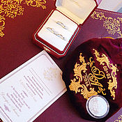 Свадебный салон handmade. Livemaster - original item Pouch of velvet Cash for coins Wedding. Handmade.