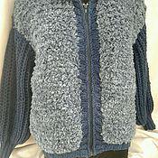 Одежда ручной работы. Ярмарка Мастеров - ручная работа Курточка из фурланы. Почти шубка. Handmade.