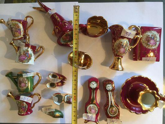Винтажные сувениры. Ярмарка Мастеров - ручная работа. Купить Коллекционный Лимож разные предметы - 2. Handmade. Фарфор, кувшин, лимож
