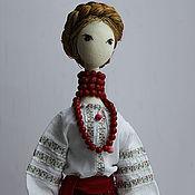 Куклы и игрушки ручной работы. Ярмарка Мастеров - ручная работа Украиночка - авторская текстильная кукла по мотиву  кор-кой тряпиенсы. Handmade.