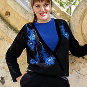 Одежда handmade. Livemaster - original item Warm black jumpsuit for women