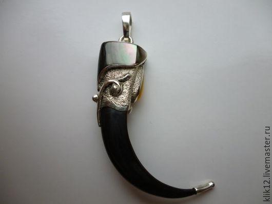 """Кулоны, подвески ручной работы. Ярмарка Мастеров - ручная работа. Купить Кулон """"Коготь Степного орла"""" авторская работа художника. Handmade."""