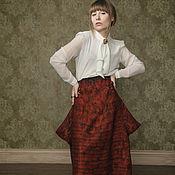 """Одежда ручной работы. Ярмарка Мастеров - ручная работа Юбка """"Тайна"""" (войлок). Handmade."""