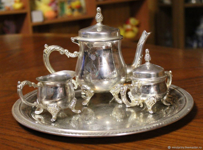 Vintage Kitchenware. Livemaster   Handmade. Buy Beautiful Vintage Coffee  Set, Silver, ...