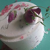 Косметика ручной работы. Ярмарка Мастеров - ручная работа бомба для ванн Шиповник. Handmade.