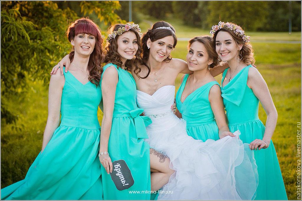 edc6e3bd6f1 Купить Платье подружки невесты-3 Платья ручной работы. Платье подружки  невесты-3. наталья корнакова (natakornakova).