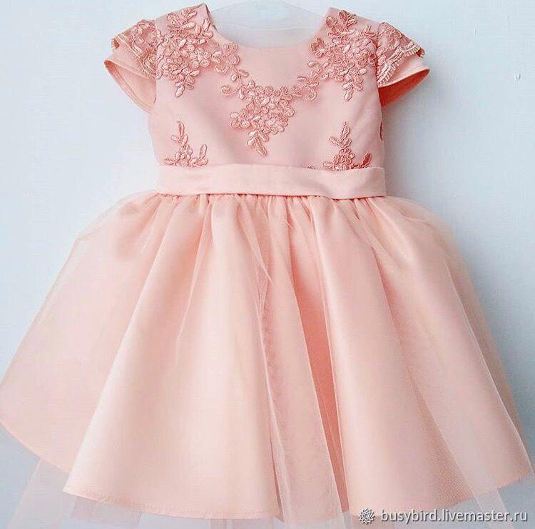 Безумно красивое платье из атласа и фатина