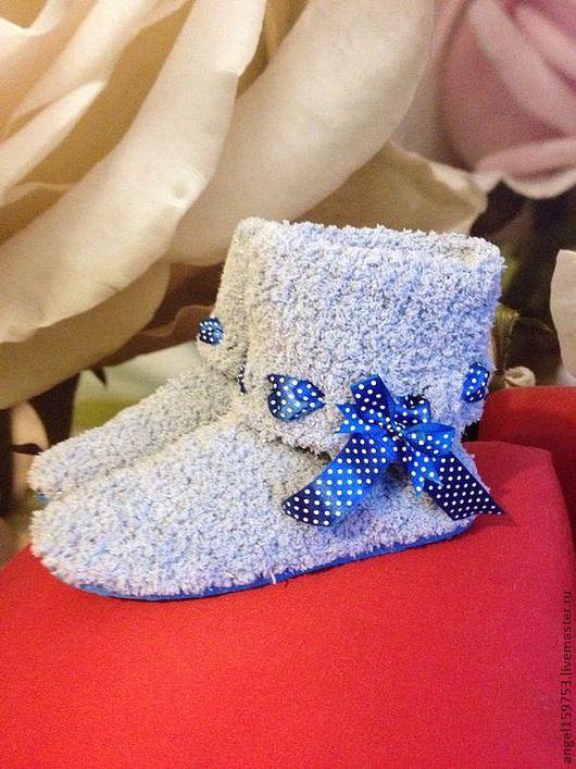 Обувь ручной работы. Ярмарка Мастеров - ручная работа. Купить Тапочки домашние Угги. Handmade. Домашняя обувь, плюш, для дома