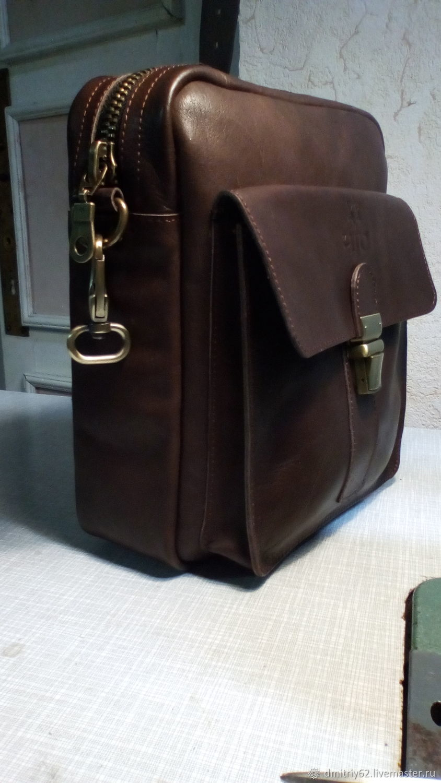 Men's bag: over the shoulder, Men\'s bag, Pyatigorsk,  Фото №1