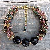 Украшения handmade. Livemaster - original item Bracelet from tourmaline