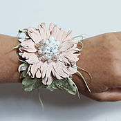 Украшения handmade. Livemaster - original item Bracelet with flower
