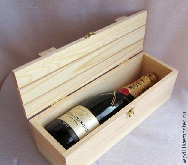 Коробка для вина своими руками