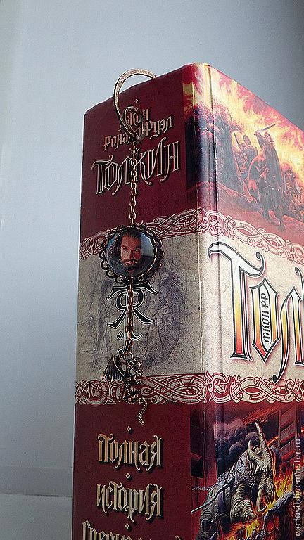 """Медная закладка для книг """"Торин Дубощит"""". Почитателям творчества Джона Рональда Руэла Толкина. Властелин колец. Хоббит"""