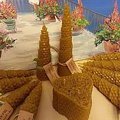 Сувениры и подарки ручной работы. Ярмарка Мастеров - ручная работа Натуральные свечи с эфирными маслами Радость. Handmade.