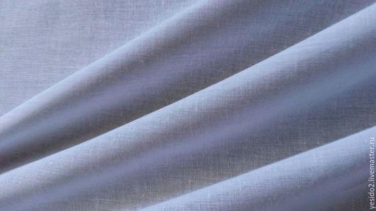 Шитье ручной работы. Ярмарка Мастеров - ручная работа. Купить Ткань рубашечная батист. Handmade. Белый, легкая, хлопковая ткань