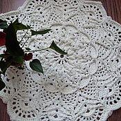 Для дома и интерьера handmade. Livemaster - original item Round rug crocheted from the cord Pineapple baby. Handmade.