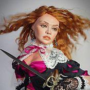 Куклы и игрушки ручной работы. Ярмарка Мастеров - ручная работа Элоиза Рыжая бестия. Handmade.