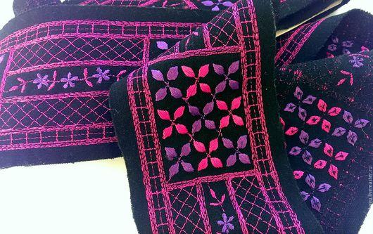 Другие виды рукоделия ручной работы. Ярмарка Мастеров - ручная работа. Купить 20% СКИДКА, Тесьма широкая отделочная. Handmade.